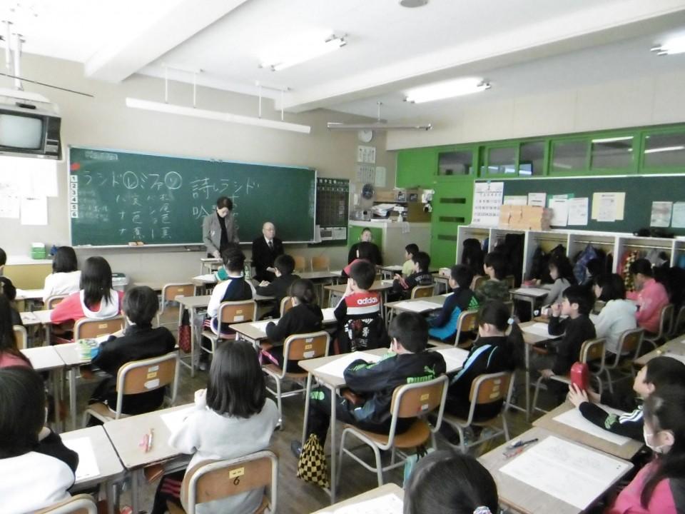 「音更小」学校訪問 (2)