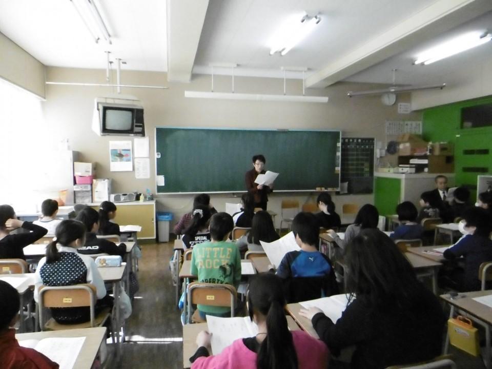 「音更小」学校訪問 (5)